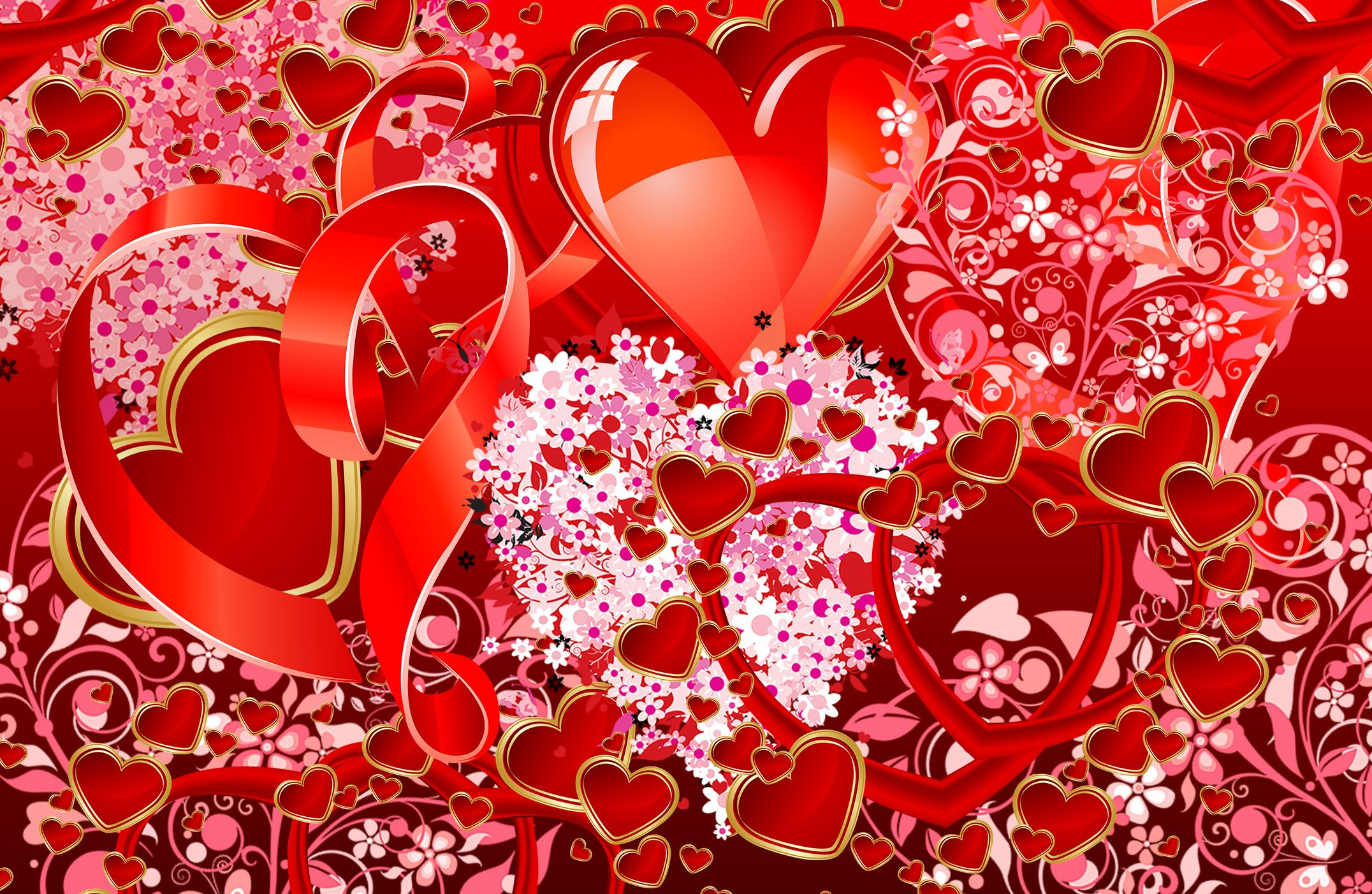 Different Types of Hearts for Valentine's Day