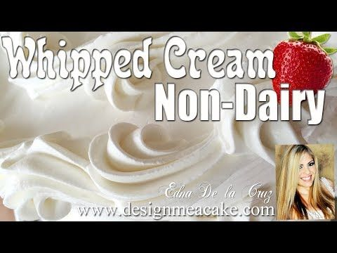 Non Dairy Whipped Cream/ Strawberry Cake Filling