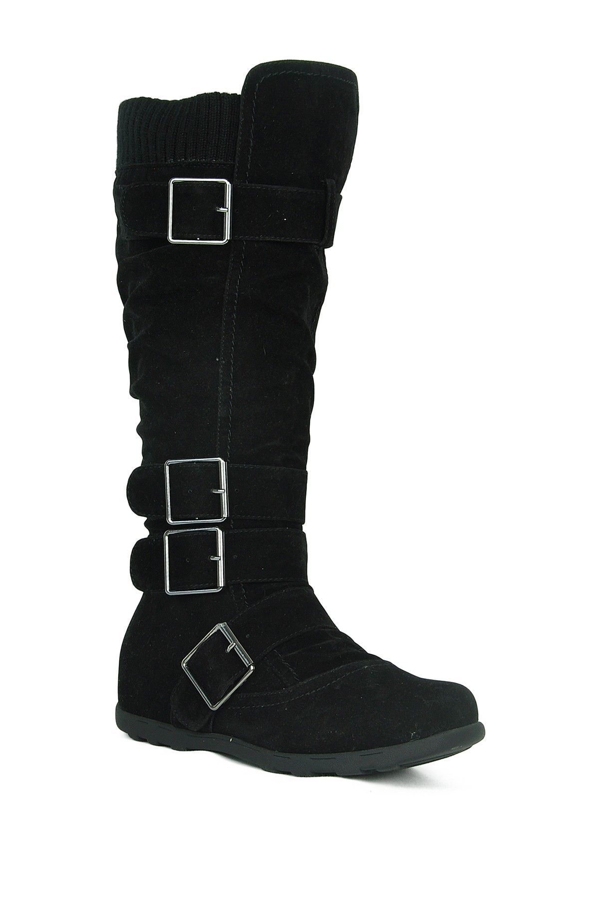 Refresh | Elma Buckle High Boot | Boots, Sweater boots, Knee