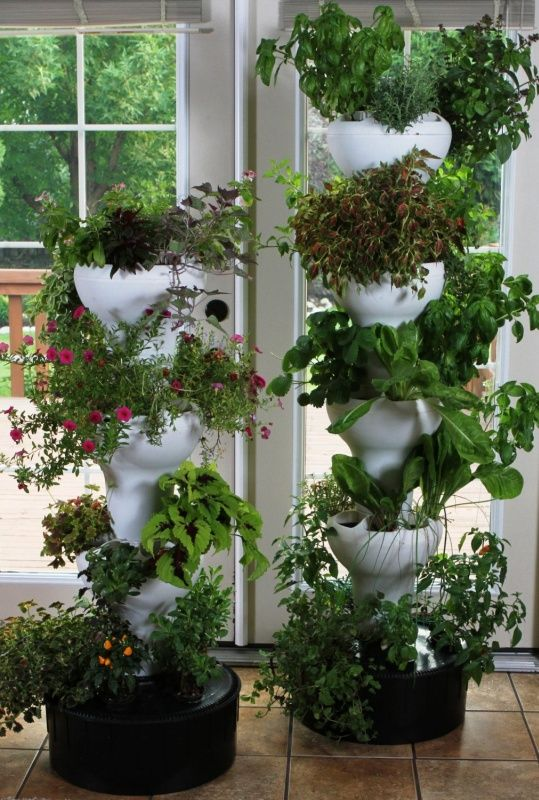 Garden Indoor Outdoor Vertical Growing Tower Hydroponic