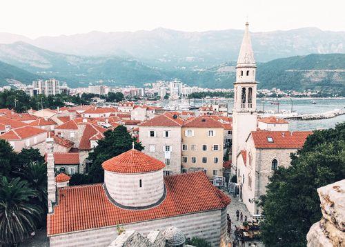 Montenegro and budva kép