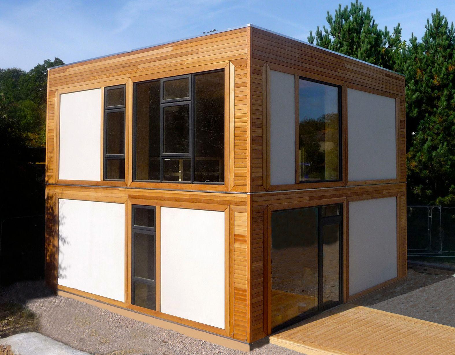 decorations-exterior-elegant-wooden-square-modular-prefab-homes ...