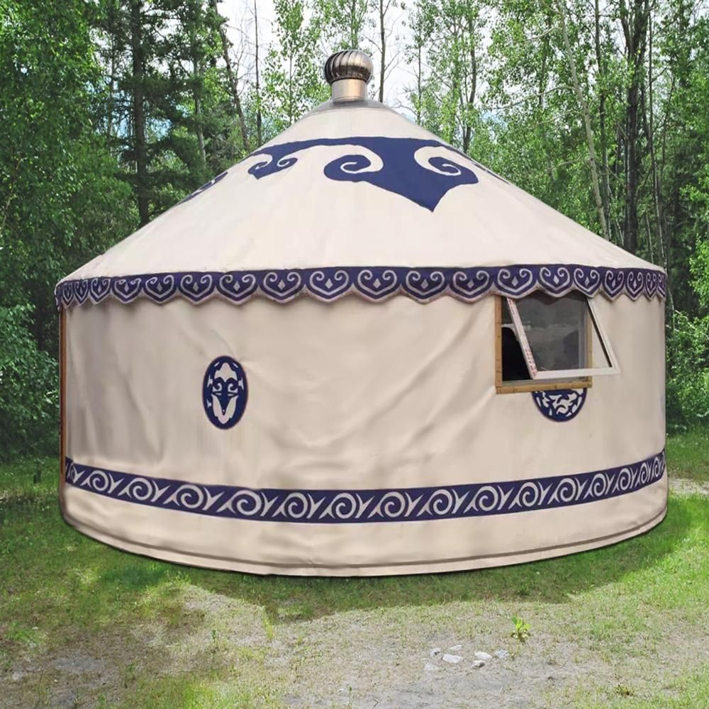 Ready to Build Modern Mongolian Ger Yurt Kit In the Spring of 1846 Henry David Thoreau decided to build himself a small & 16ft. Thoreau Yurt House Kit | Aluminium Framed Yurt Tents ...