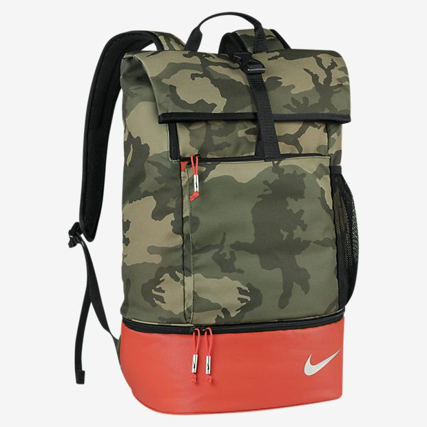 nike rolling backpack gold