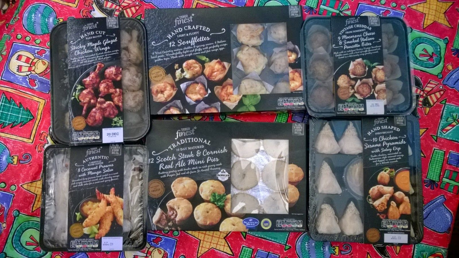 Tesco Finest Party Food. Tasty!! Very Tasty!! | Tesco Orchard ...
