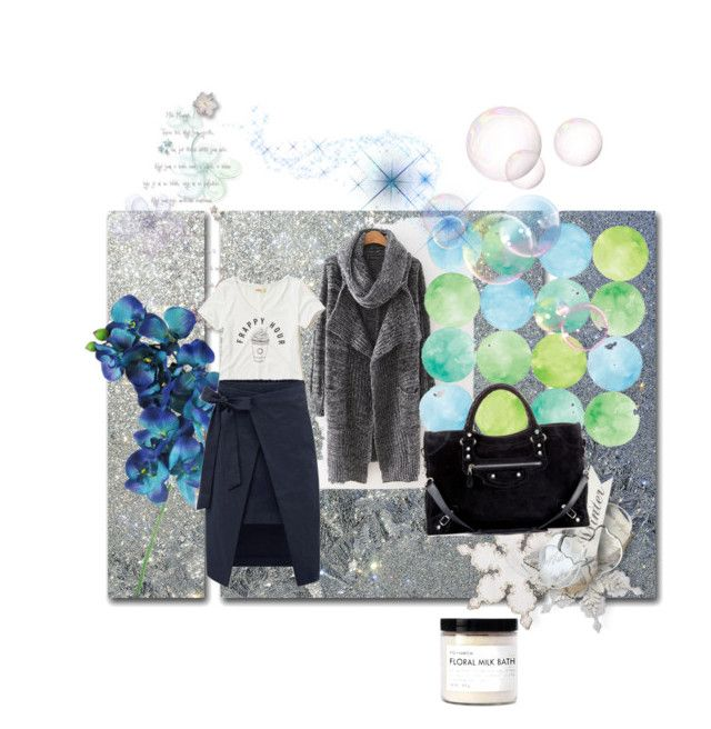 """""""Untitled #108"""" by sunny-rose1 ❤ liked on Polyvore featuring Trademark Fine Art, Fig+Yarrow, Hollister Co. and Balenciaga"""