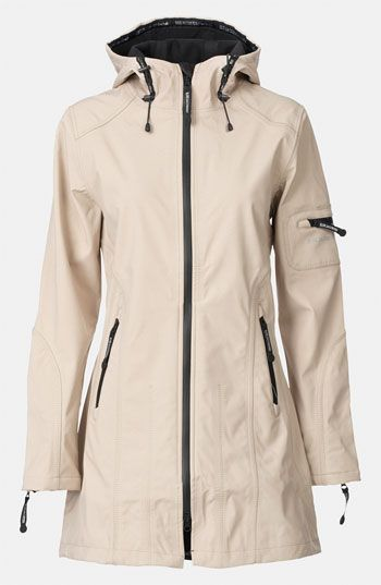 6dbc477ca Free shipping and returns on Ilse Jacobsen Rain 7 Hooded Water Resistant  Coat at Nordstrom.com. Smart Scandinavian design inspires a technically  innovative ...