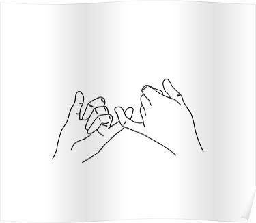 'hand finger' Poster by Aurora J  Reid