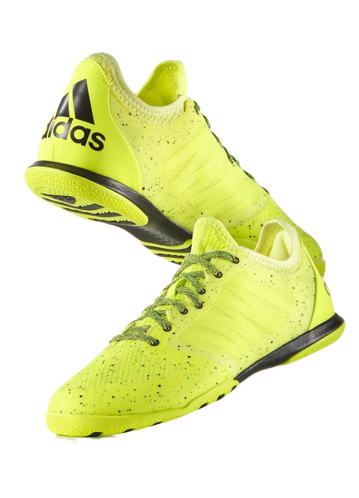 Football boots shoes adidas cleats yellow x 151 court