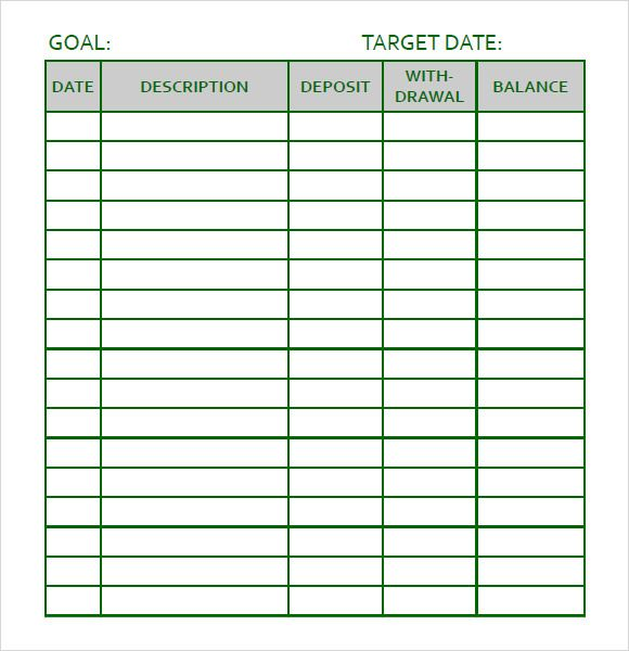Personal Goal Tracking Template  Smart Goals    Goal