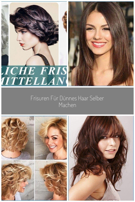 Frisuren Für Dünnes Haar Selber Machen Frisuren Für Dünnes Haar