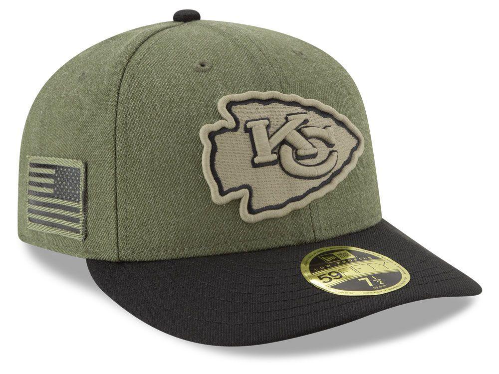 big sale 9cfc1 a5311 Kansas City Chiefs New Era 2018 NFL Salute To Service Low ...