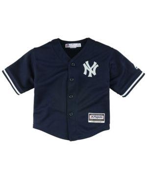6454ca8c9f8 Majestic New York Yankees Blank Replica Cool Base Jersey