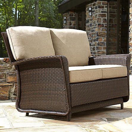 Ty Pennington Style Parkside Double Glider Outdoor Glider Chair Outdoor Glider Glider Chair