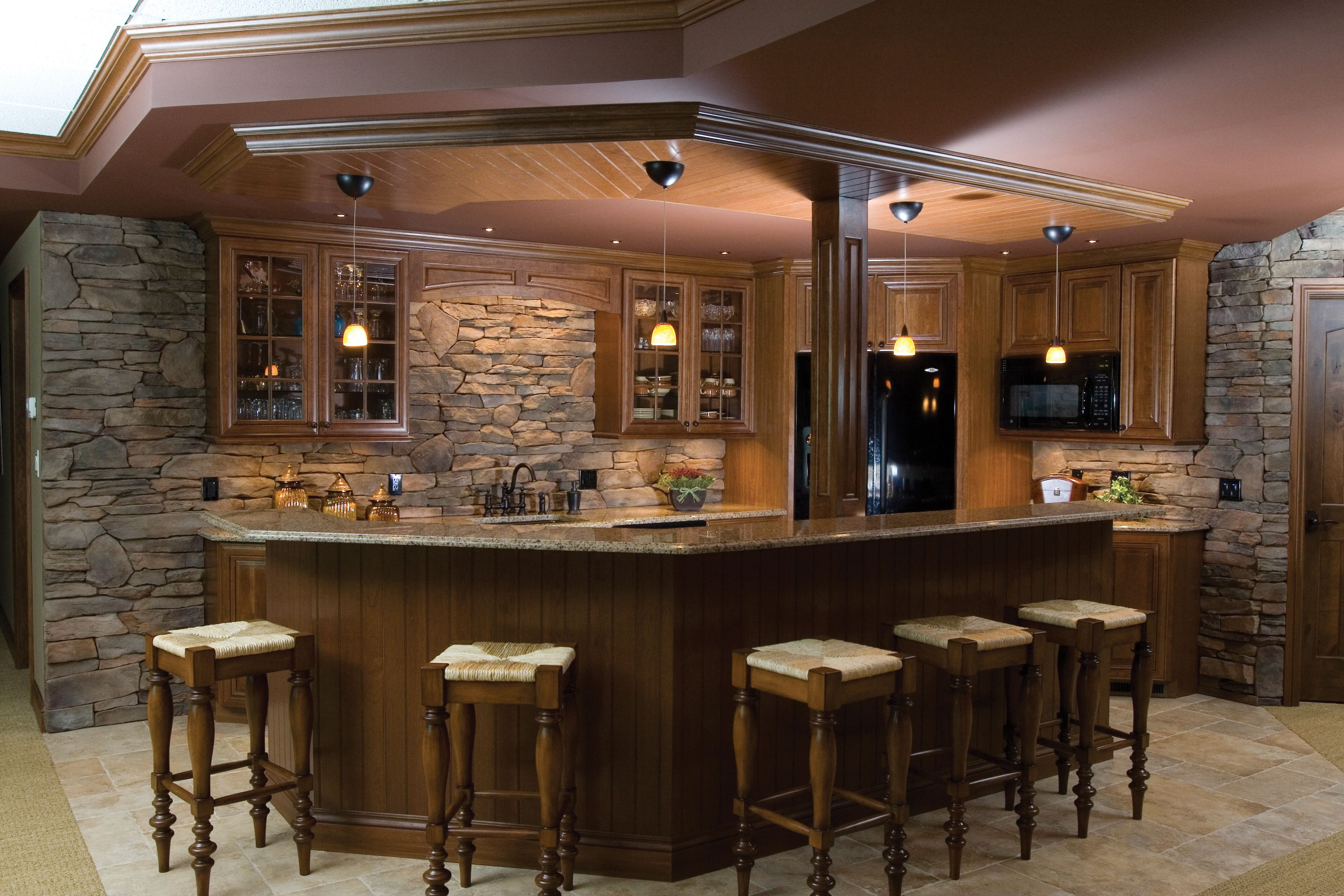 17 Best Ideas About Stacked Stone Backsplash On Pinterest City
