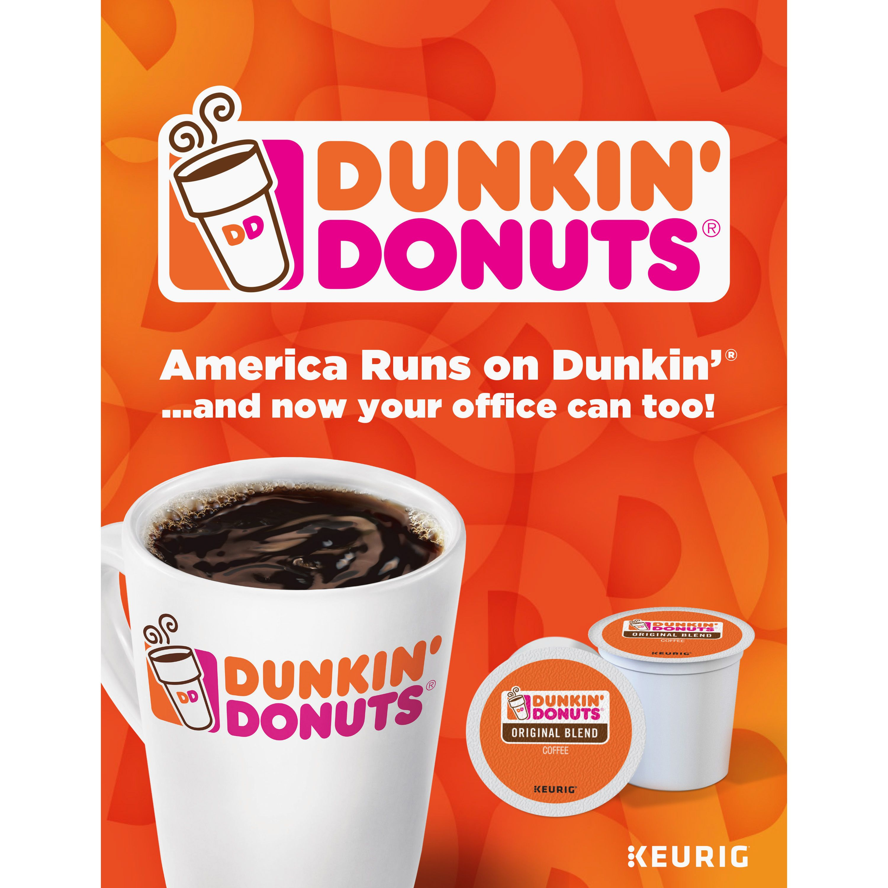 Enjoy an authentic Dunkin' donuts experience in no time at