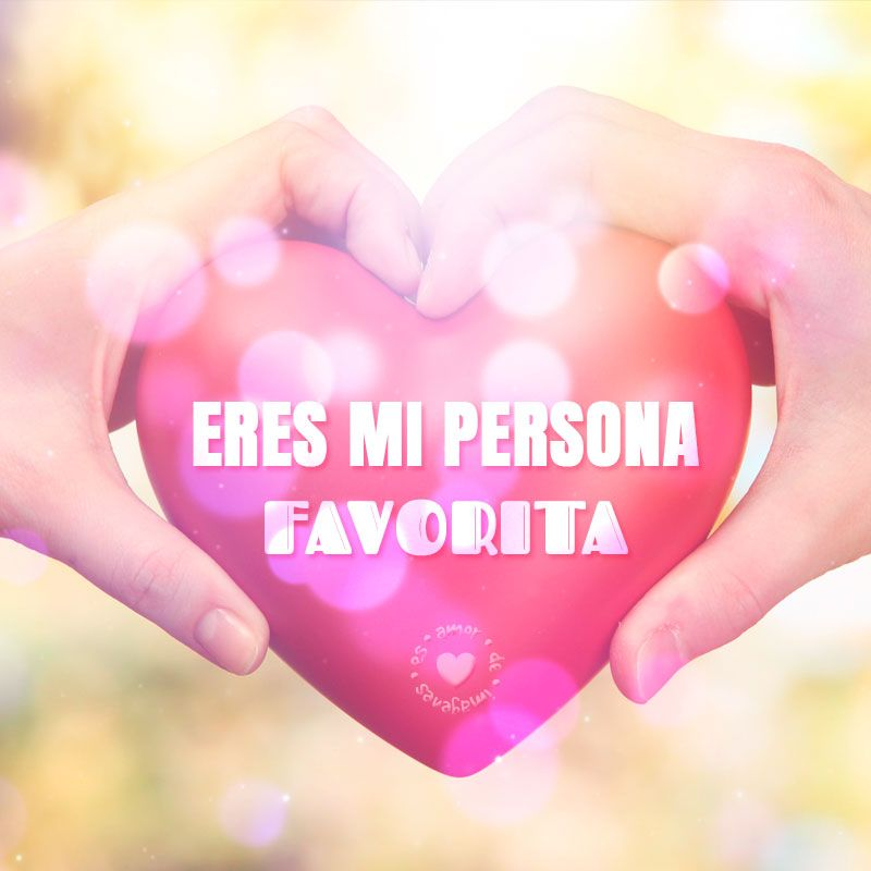Bonita Postal De Corazon Con Frase Corta De Amor Amor De Imagenes