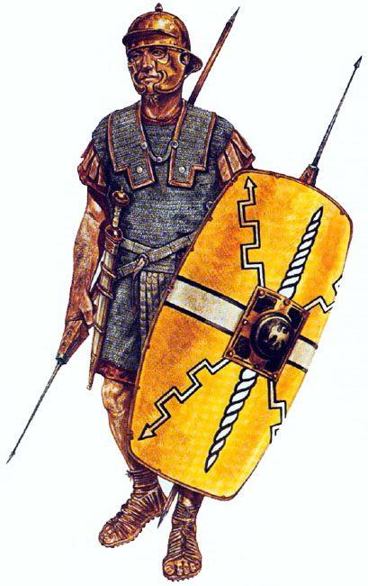 Jeff Burn - Legionario romano de la época de Augusto.