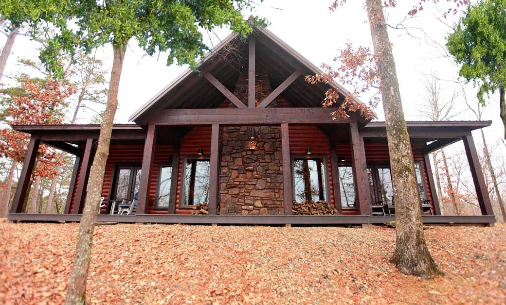 Heavenly Hilltop | Beavers Bend Luxury Cabin Rentals. Beautiful, Romantic 2  Bedroom Cabin With
