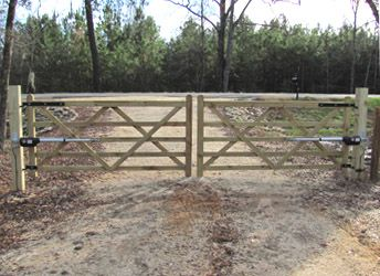 farm fence gate. The Cambridge Five Bar Double Wood Gate With Operators Farm Fence
