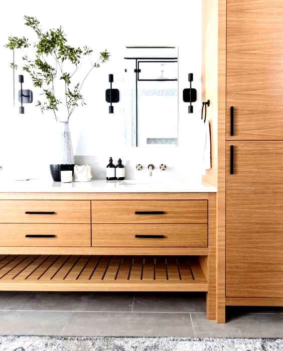 Design by Le Clair Design #minimalist #bathroom