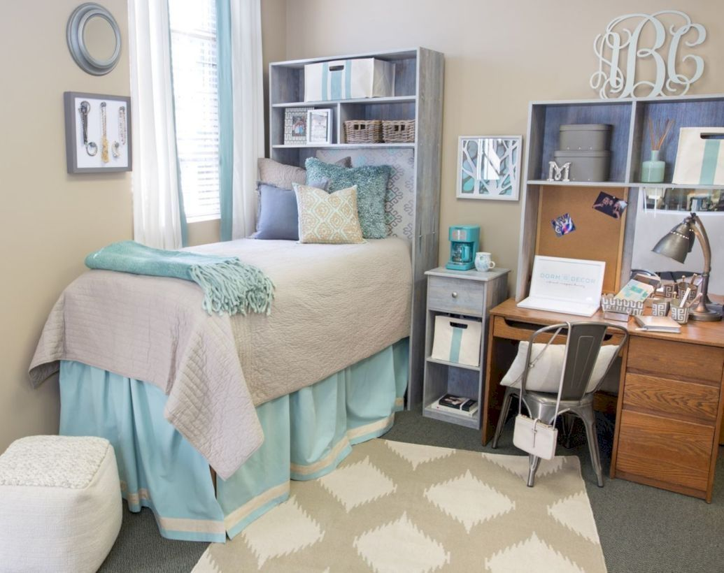 41 beautiful dorm room organization ideas interior design rh pinterest com
