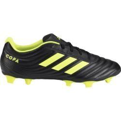 Adidas Kinder Fußballschuhe Copa 19.4 In, Größe 38 in Schwarz/Neongelb, Größe 38 in Schwarz/Neongelb