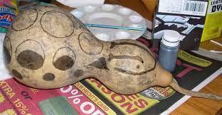 Resultado de imagem para gourd painting