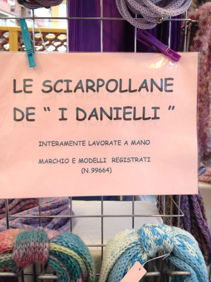 Sciarpe / collane in cotone, lana, microfibra