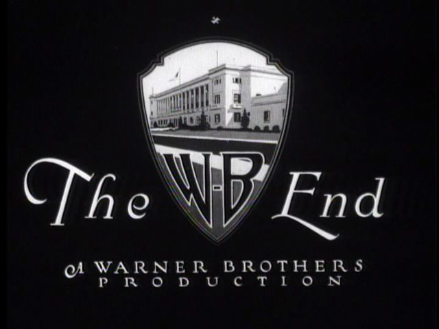 The end titles: Warner Bros | Movie titles, Warner bros, Bros