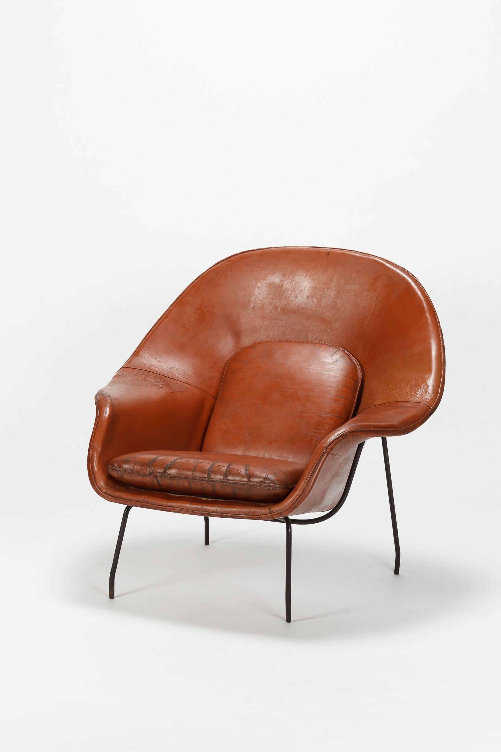 Eero Saarinen Womb Chair Florence Knoll 1948