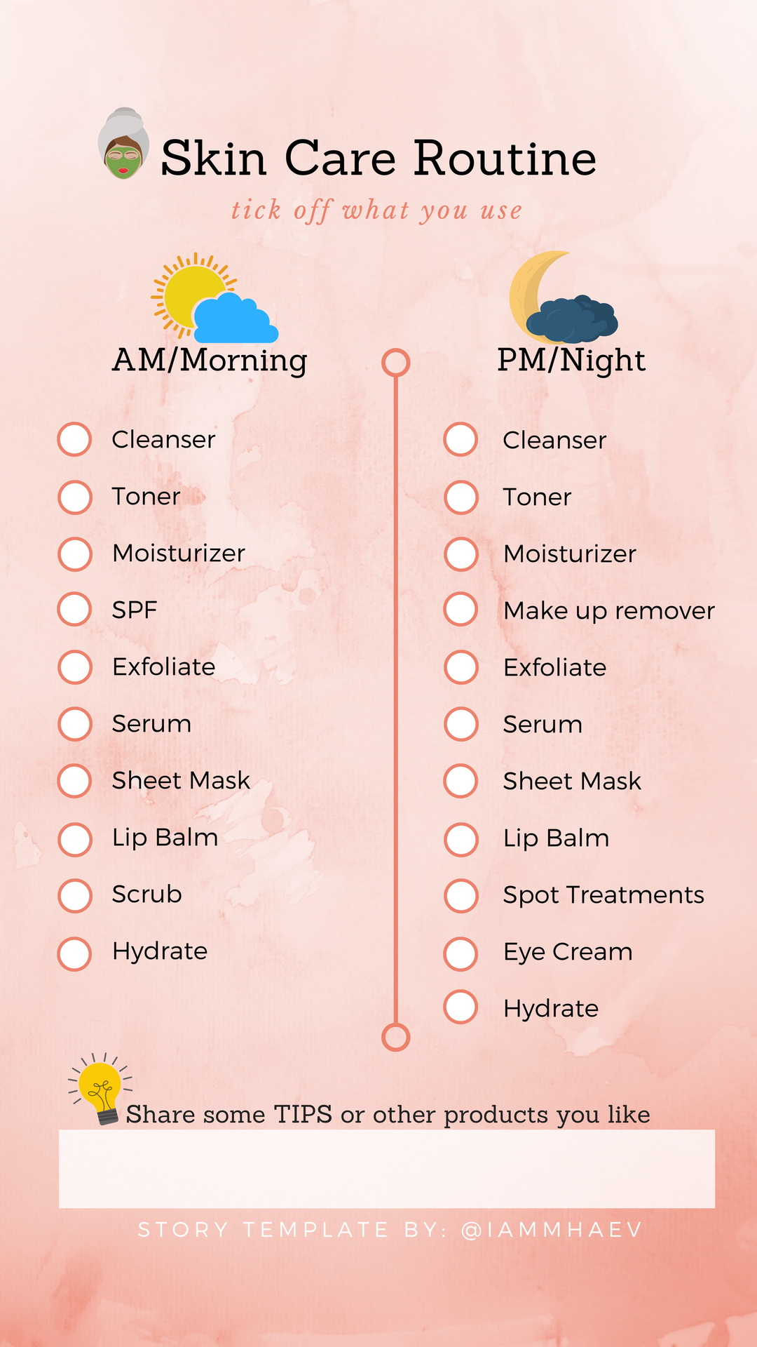 Skin Care Routine Instagram Story Templates Beauty Skin Care Skin Care Methods Organic Skin Care