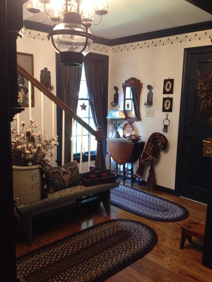 Image result for primitive tole painting designs primitive living rooms bedrooms pinterest for Primitive decorating ideas for living room