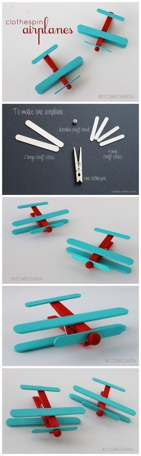 Otra manera de disfrutar con tus peques y hacerles un juguete barato y divertido #popciclesticks