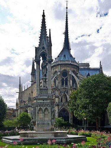 Square Jean XXIII  - Paris 4   Ile de la Cité