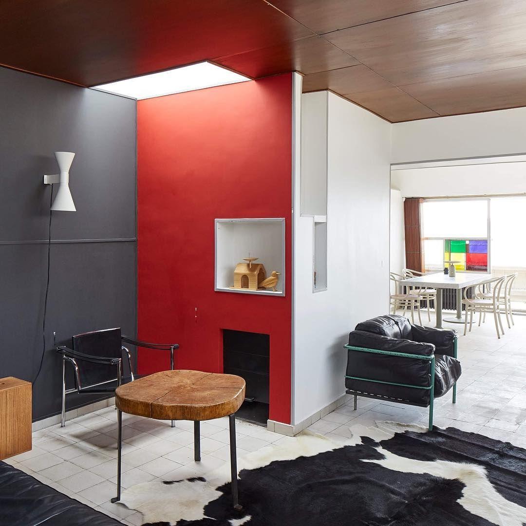 Fondation Le Corbusier On Instagram Appartement Atelier Construit Entre 1931 Et 1934 Par Le Corbusier Et Pierre Jeanneret Deco Maison Maison Paris Interieur
