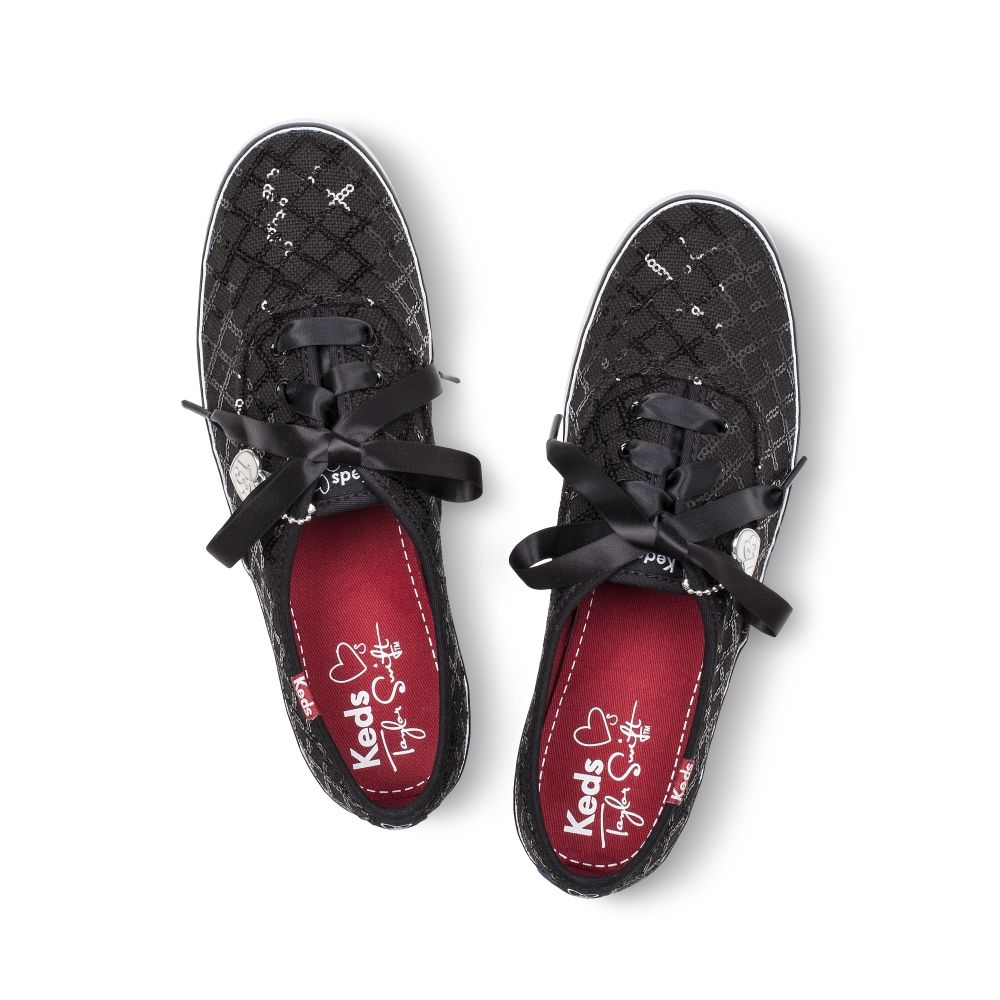 Exclusive Black Sequined KEDS get them for just $35 (save $20) for a limited time at store.taylorswift.com