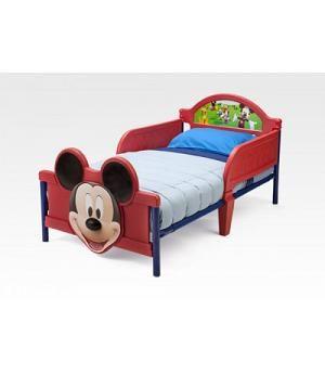 Cama Infantil Mickey Mousepara Ninos Pequenos Bb86681mm Camas - Cama-para-nios-pequeos