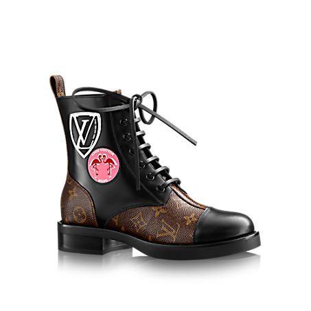 Checkpoint Flat Ranger - Shoes   LOUIS VUITTON