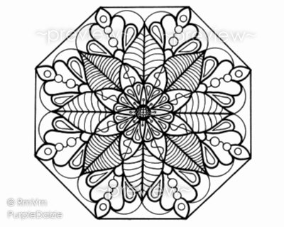 This Listing Is For The Mandala Flower 5
