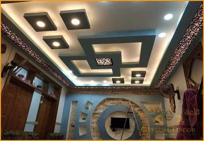 أحدث جبس بورد False Ceiling Ceiling Design Living Room Ceiling Decor