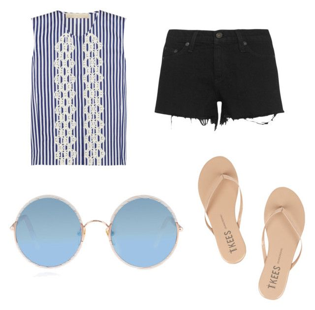 """""""Untitled #66"""" by cjdarga on Polyvore featuring Vanessa Bruno, rag & bone, Tkees and Sunday Somewhere"""