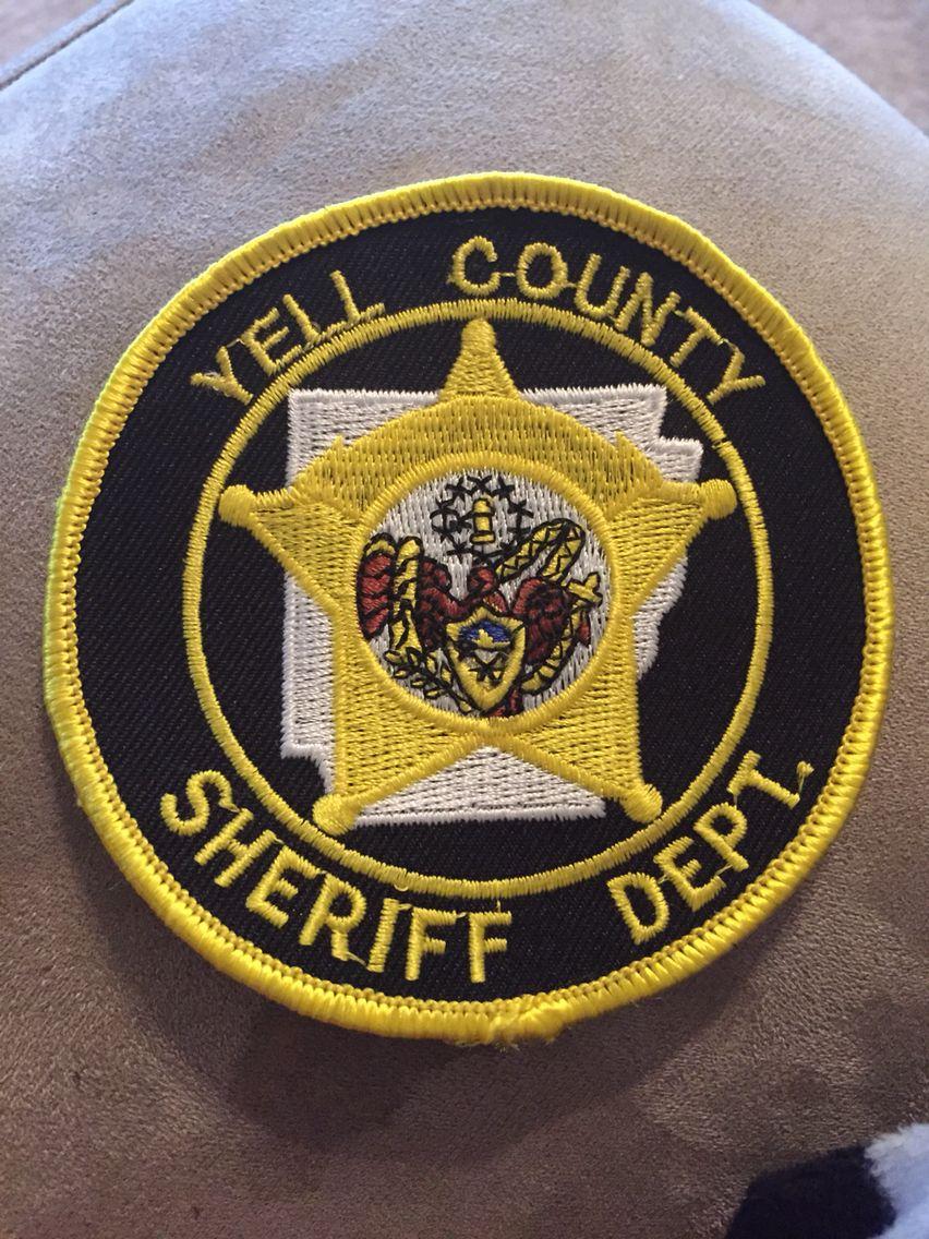 Yell County SO Police badge, Arkansas