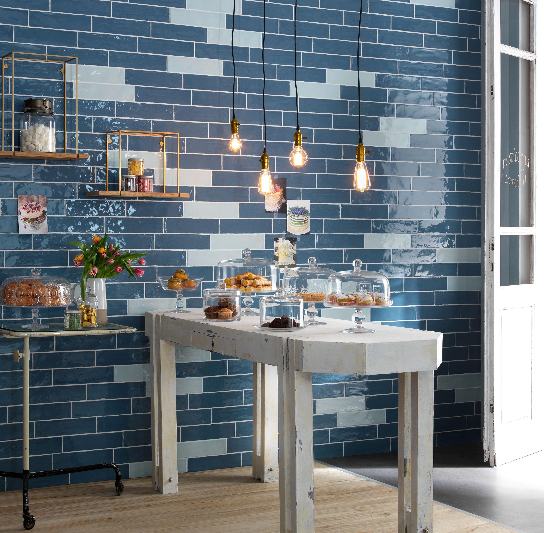 Crayon Ceruleo Gloss Tile | Decorator Tiles | Pinterest | Crayons ...