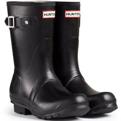 Hunter Original Tall Damen Fest Gummistiefel Wellington Boots - Schwarz - 36 XCk5Cd