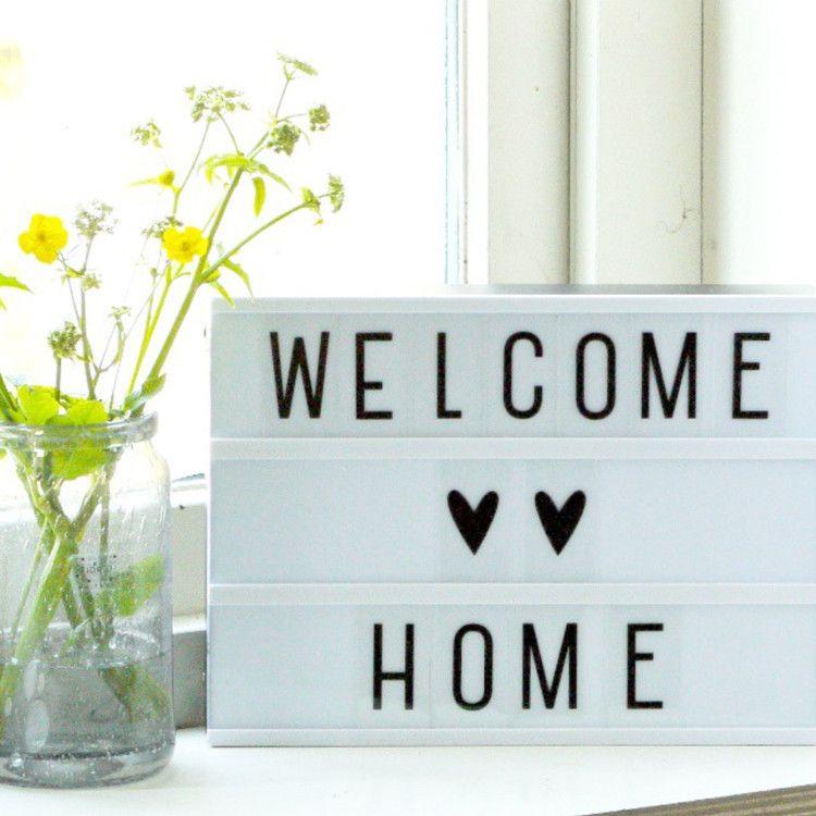 diy letter lightbox a4 van a little lovely company our. Black Bedroom Furniture Sets. Home Design Ideas