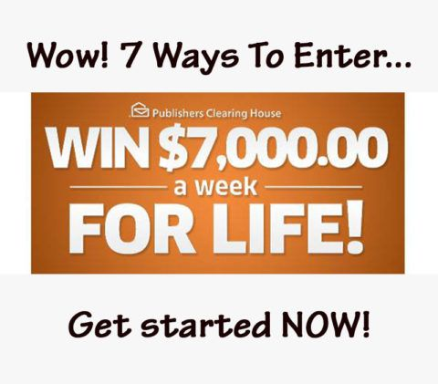 7000 a week for life