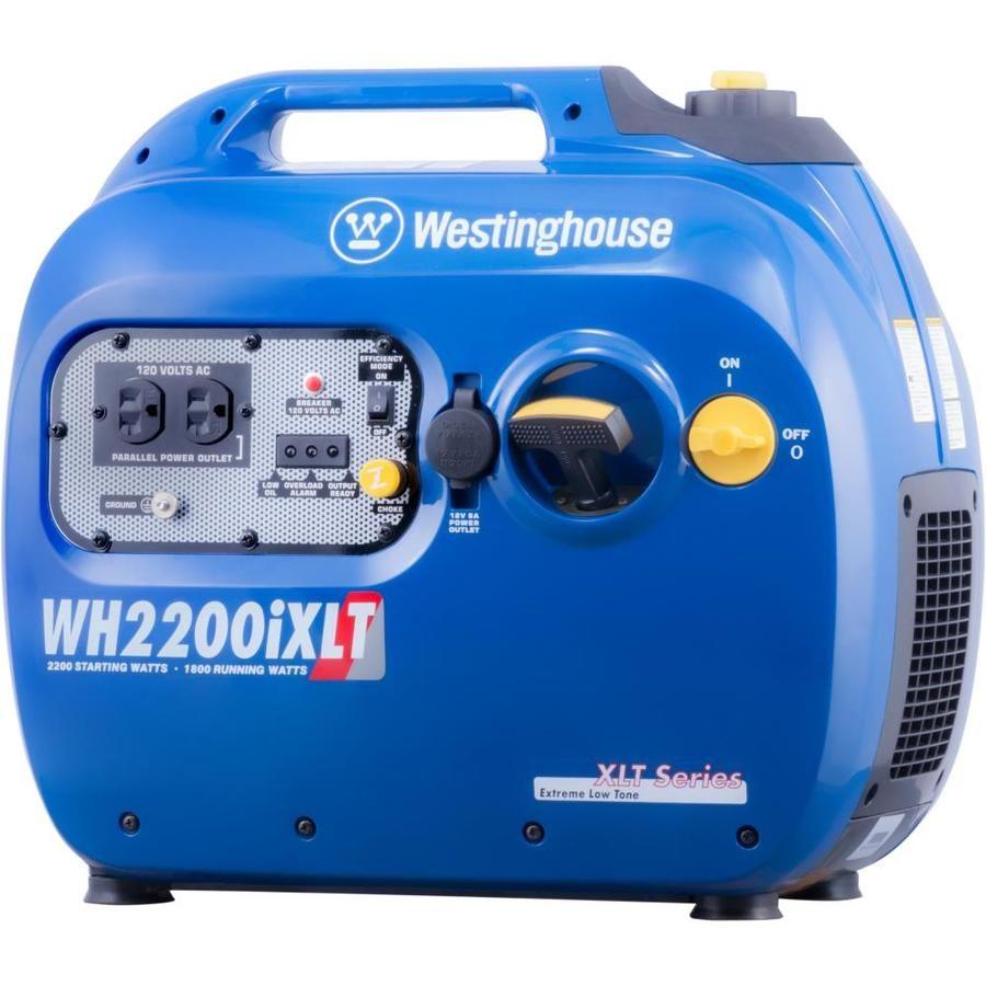 Westinghouse Wh 2200 Watt Inverter Gasoline Portable Generator Wh2200ixlt In 2020 Inverter Generator Portable Generator