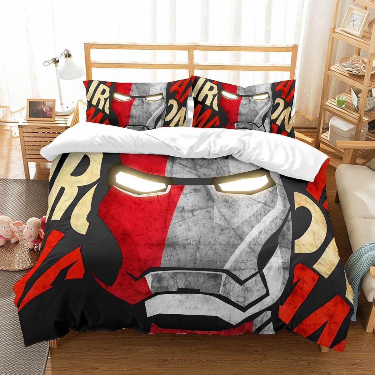 3d Customize Iron Man Bedding Set Duvet Cover Set Bedroom Set Bedlinen Westbedding Mens Bedding Sets Duvet Cover Sets Bedroom Set