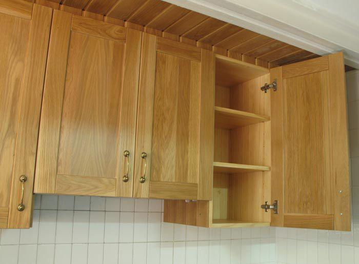 armarios de madera maciza de roble | Basora | Muebles de cocina a ...